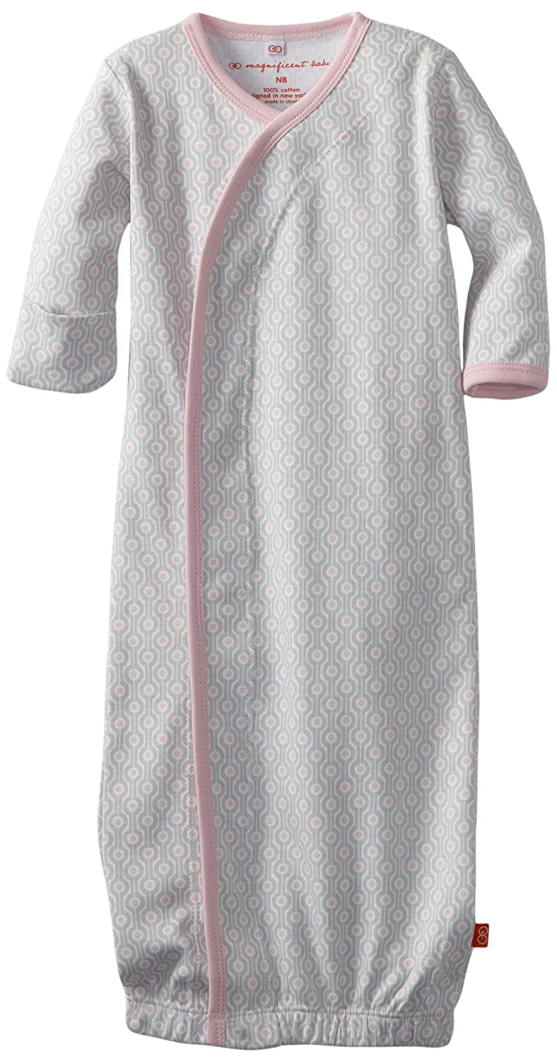 Magnificent Baby Girl Mod Dots Gown, Mod Dots, New Born, 1-Pack 1142G