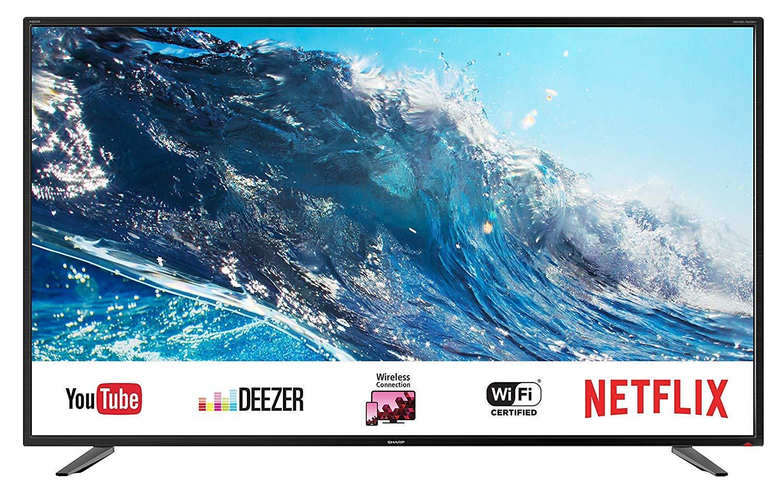 """Sharp 55BJ2E - TV 55"""" 4K Ultra HD [Clase de eficiencia energética A]"""