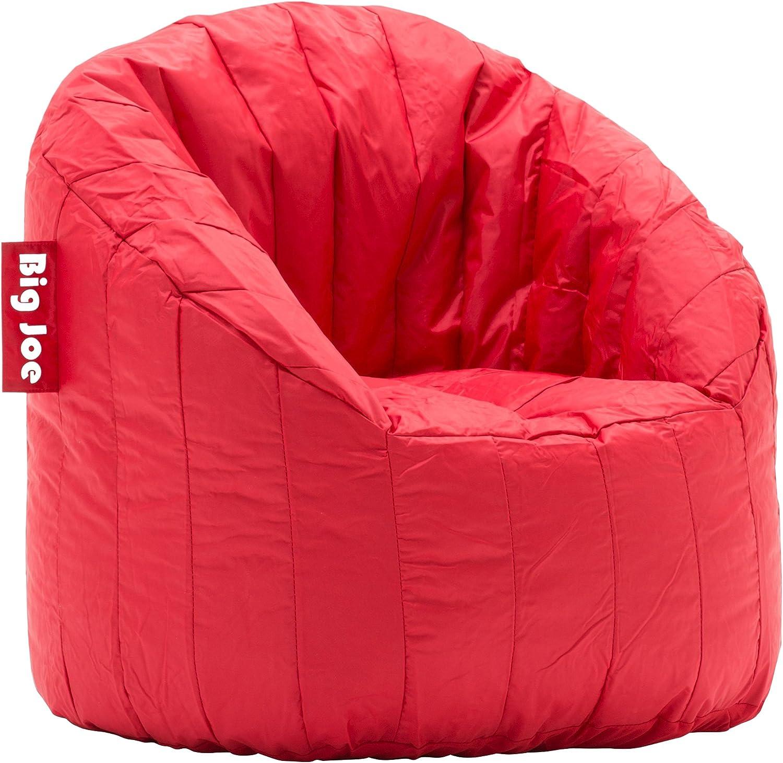 Big Joe Lumin SmartMax Fabric Chair, Red Engine
