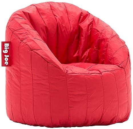 Genial Big Joe Lumin SmartMax Fabric Chair, Red