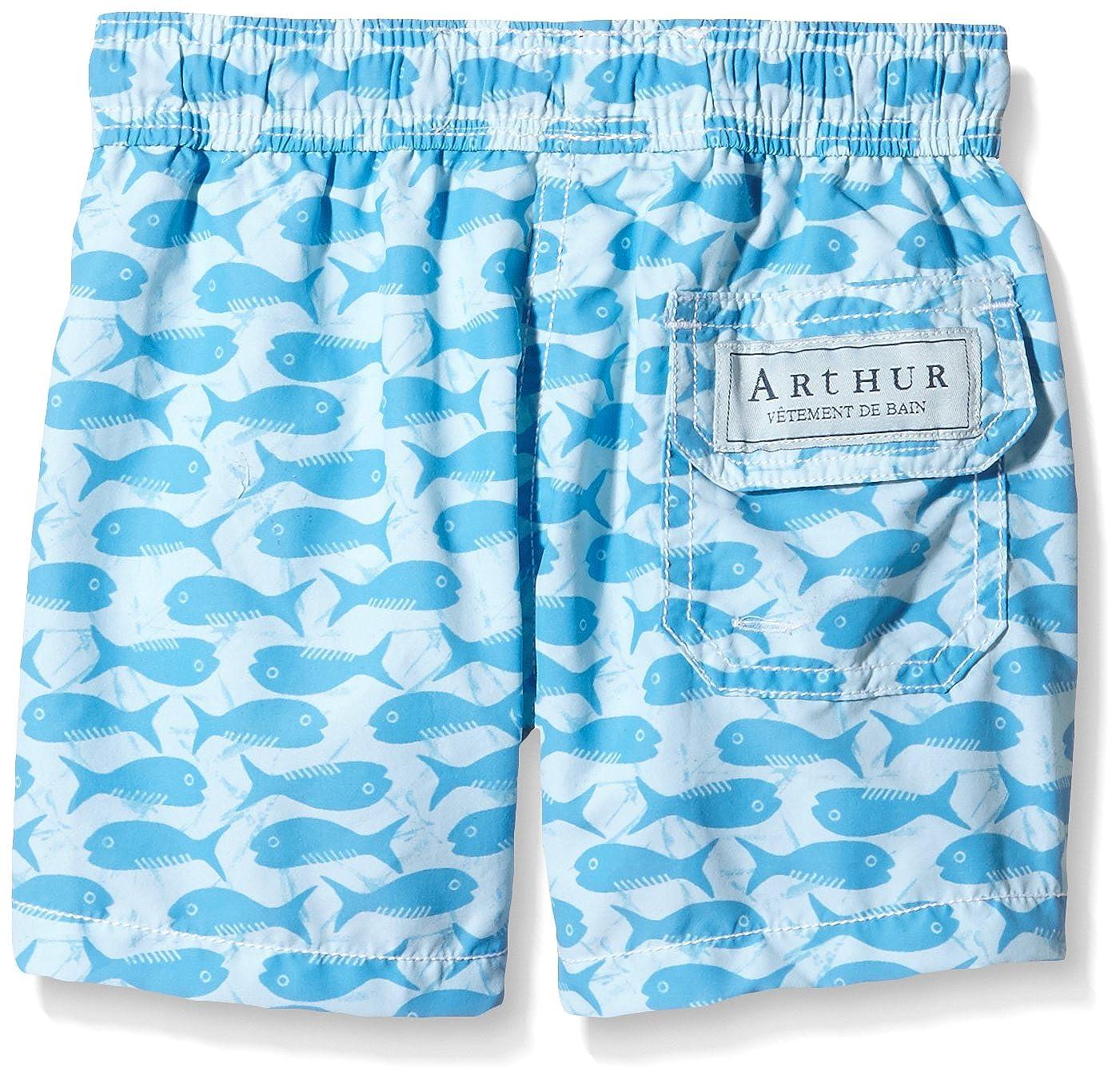 7e7b7e7904 Arthur Short de Bain African Lagon, Garçon, Bleu, FR: 24 Mois (Taille  Fabricant: 2 Ans): Amazon.fr: Vêtements et accessoires