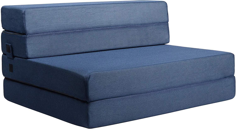 - Amazon.com: Milliard Tri-Fold Foam Folding Mattress And Sofa Bed