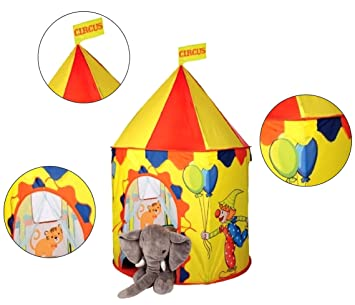 PIGLOOu0026trade; Circus Pop Up Play Tent House for Kids Ages 3+ Years 100x135cm  sc 1 st  Amazon India & Buy PIGLOO™ Circus Pop Up Play Tent House for Kids Ages 3+ Years ...