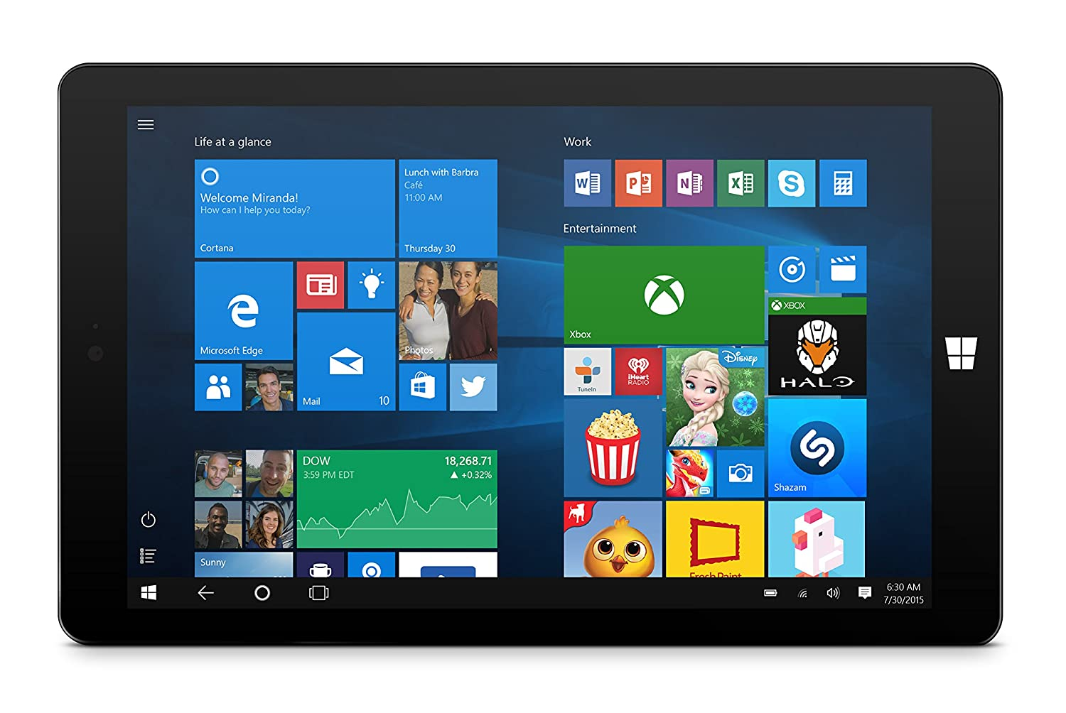 db2a6340119 Amazon.com: Ematic 8-inch Windows 10, HD Quad-Core 32GB Tablet with WiFi  Intel and Docking Keyboard, Black: Computers & Accessories