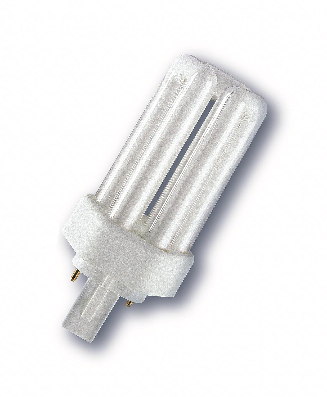 Osram Lá mpara Fluorescente compacta, 26 W, Blanco Neutro DULUX T 26 W/840 PLUS B001QP8EEC