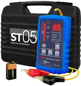 Amazon.com: GTC ST05Probador de sensor de oxí ...