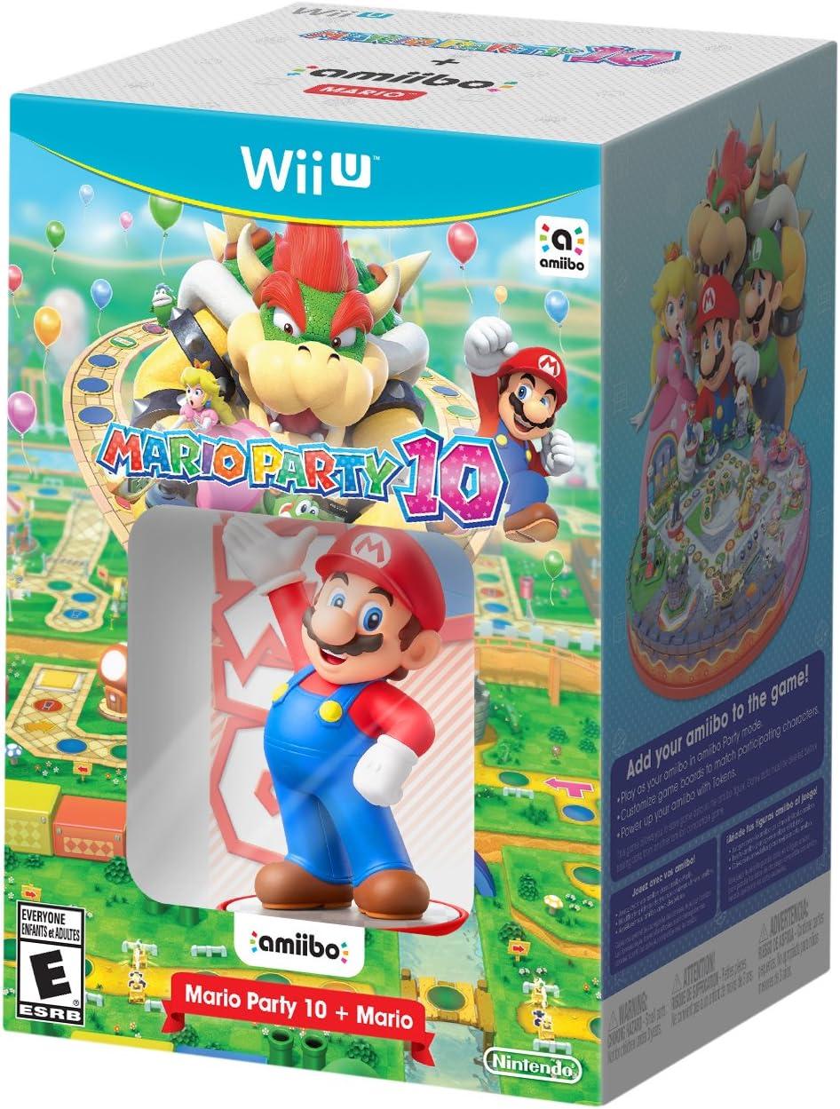 Mario Party 10 + Mario amiibo Bundle - Wii U by Nintendo: Amazon ...