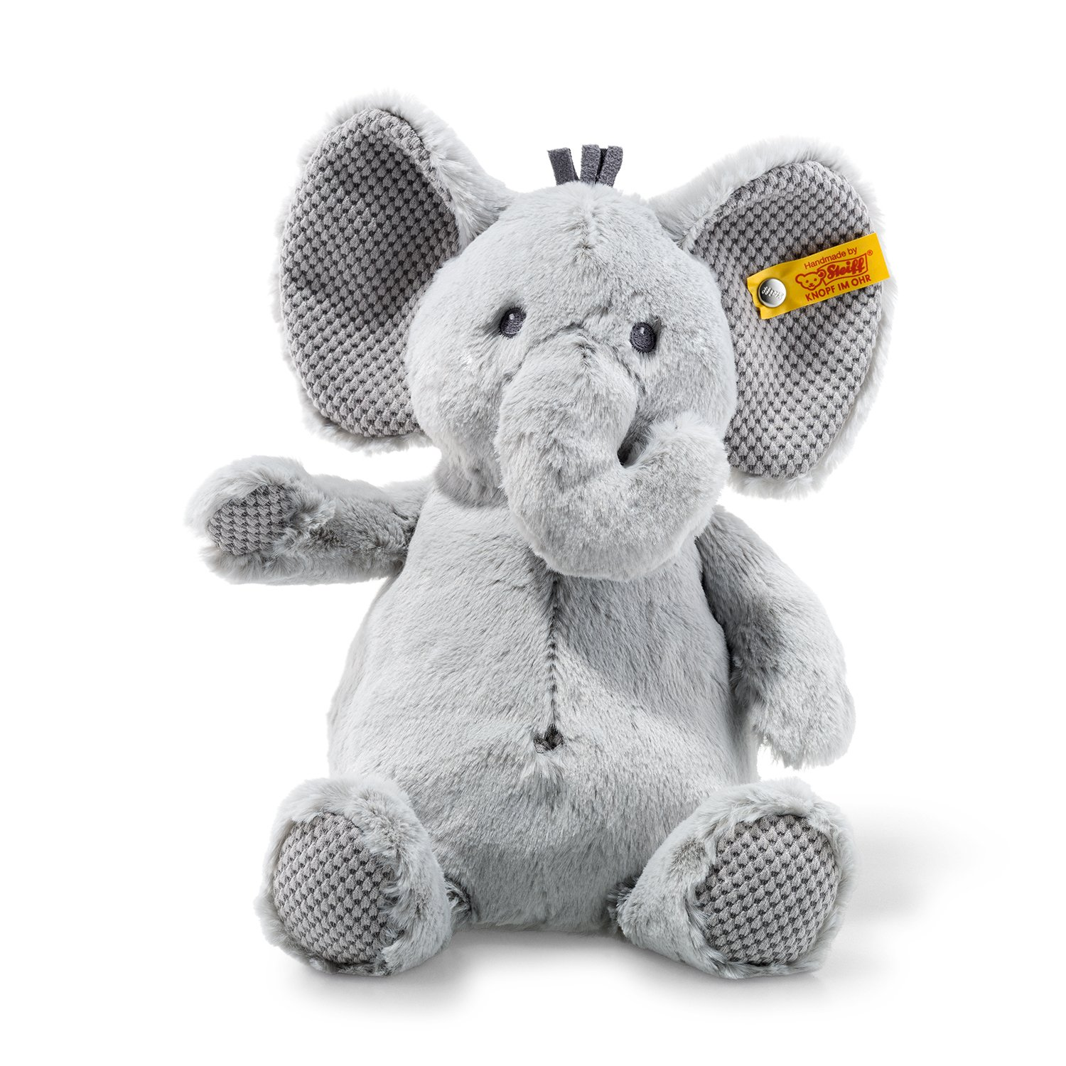 Amazon Com Steiff Ellie Elephant Stuffed Animal Soft And Cuddly