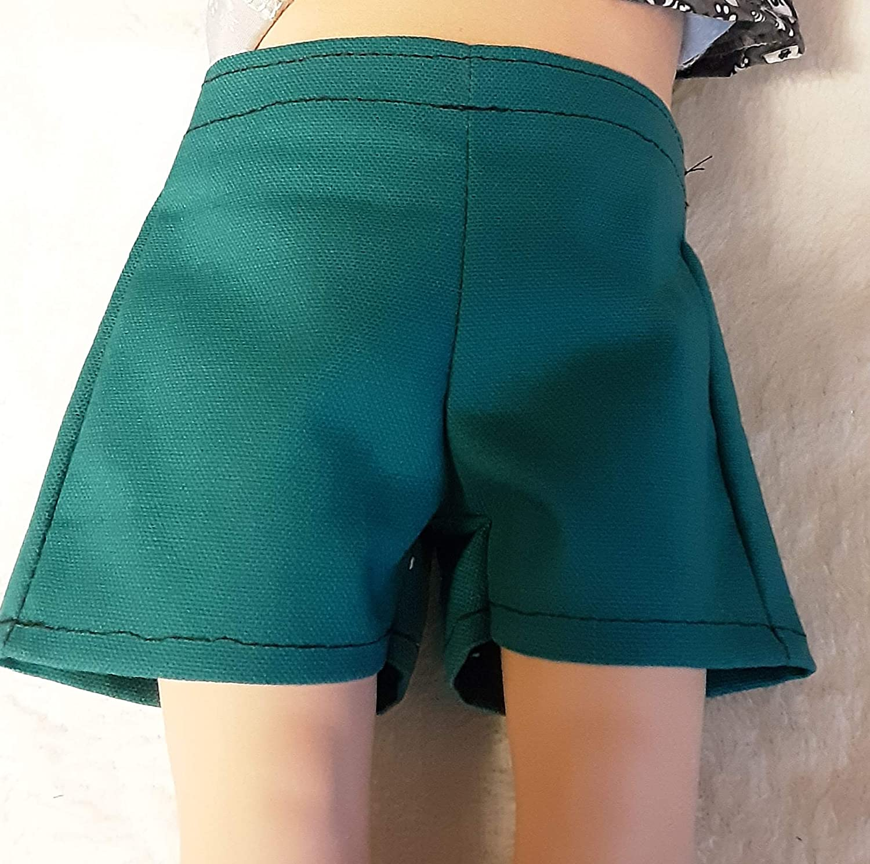 18 Doll Shorts Green