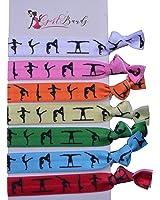 Gymnastics Hair Ties- Girls Gymnastics Hair Accessories- Gymnastics Elastics - Perfect Gift For Gymnast