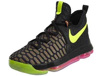 NIKE Kid\u0027s Zoom KD9 GS, Multi-Color, Youth Size 4.5
