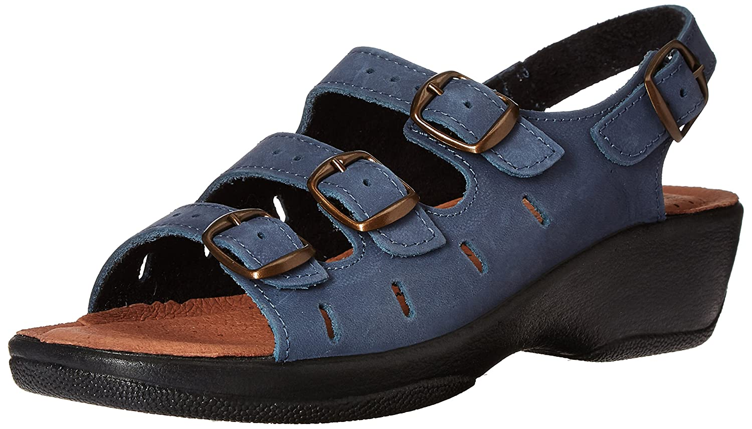Spring Step 37 Women's Willa Wedge Sandal B00BLQBJXO 37 Step EU/6.5-7 M US|Navy 32b322