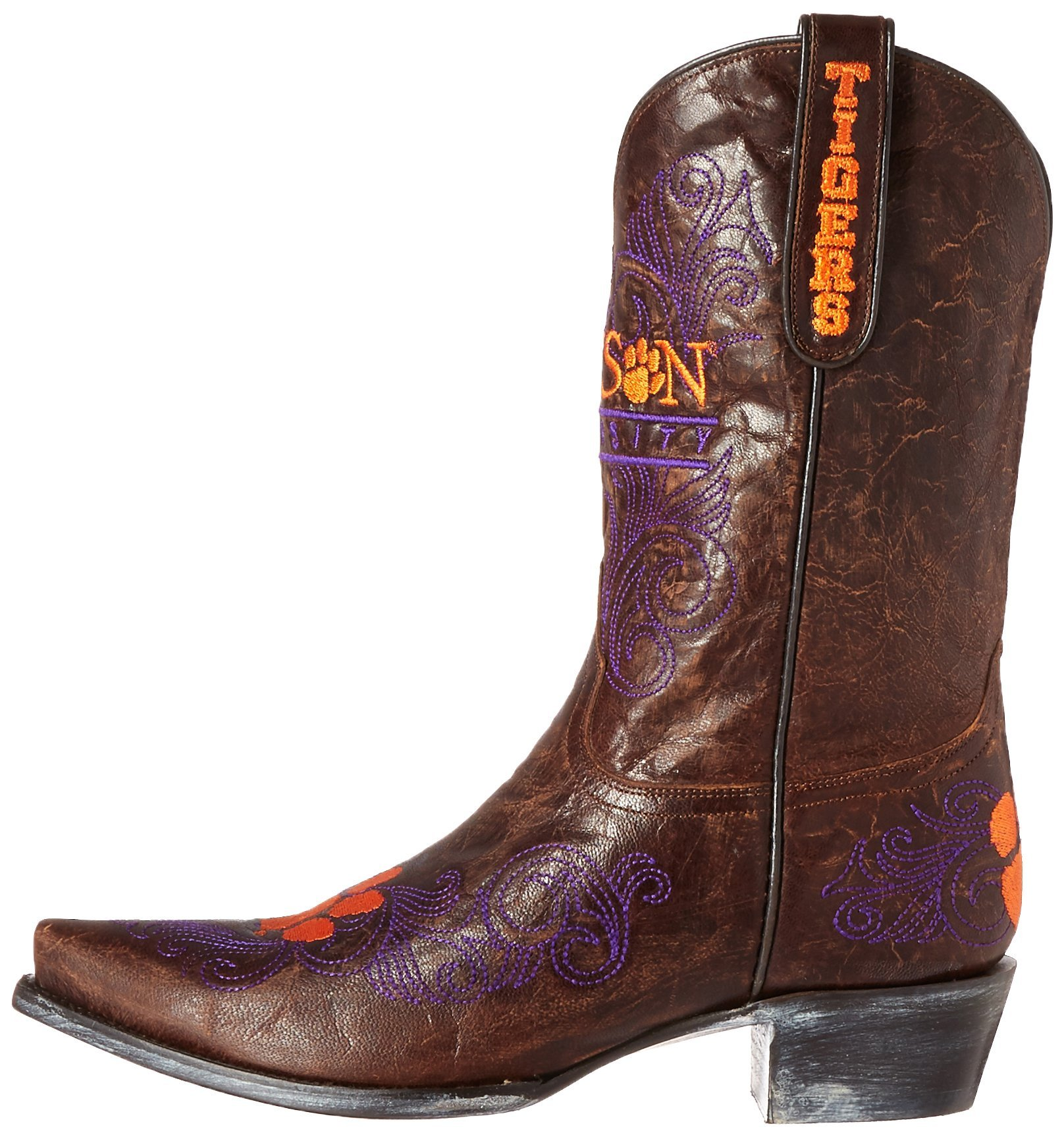 Gameday-Boots-NCAA-Clemson-Tigers-Women-039-s-10-Inch-Choose-SZ-color miniature 6