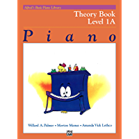 Alfred's Basic Piano Library - Theory Book 1A: Learn How to Play Piano with This Esteemed Method book cover