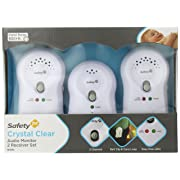 Safety 1st Crystal Clear Audio Monitor (2 RX), White