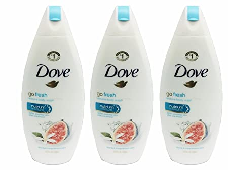 Dove go fresh Body Wash, Blue Fig and Orange Blossom, 14.5 Ounces Pack of 3