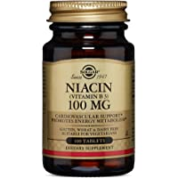 Solgar - Niacin Vitamin B3, 100 mg, 100 Tablets