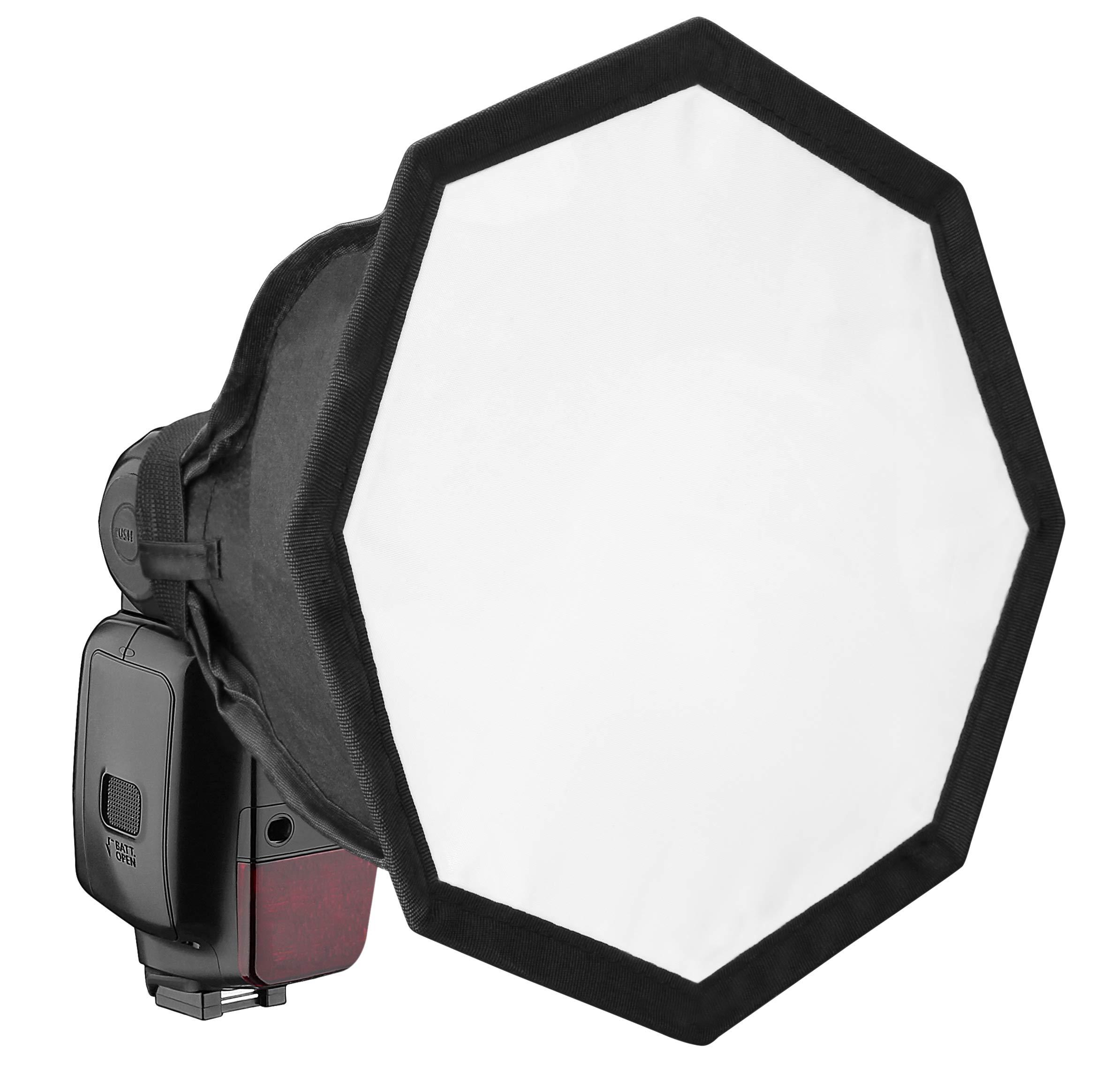 Vello Octa Softbox for Portable Flash (Medium, 8'')