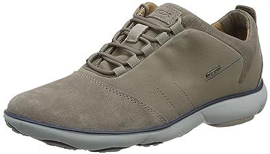 Geox U Nebula E, Sneakers Basses Homme, Beige (Taupe), 41 EU