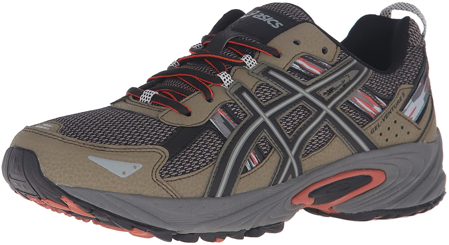Dusky Green Black Cinnamon ASICS Men's Gel Venture 5 Running shoes