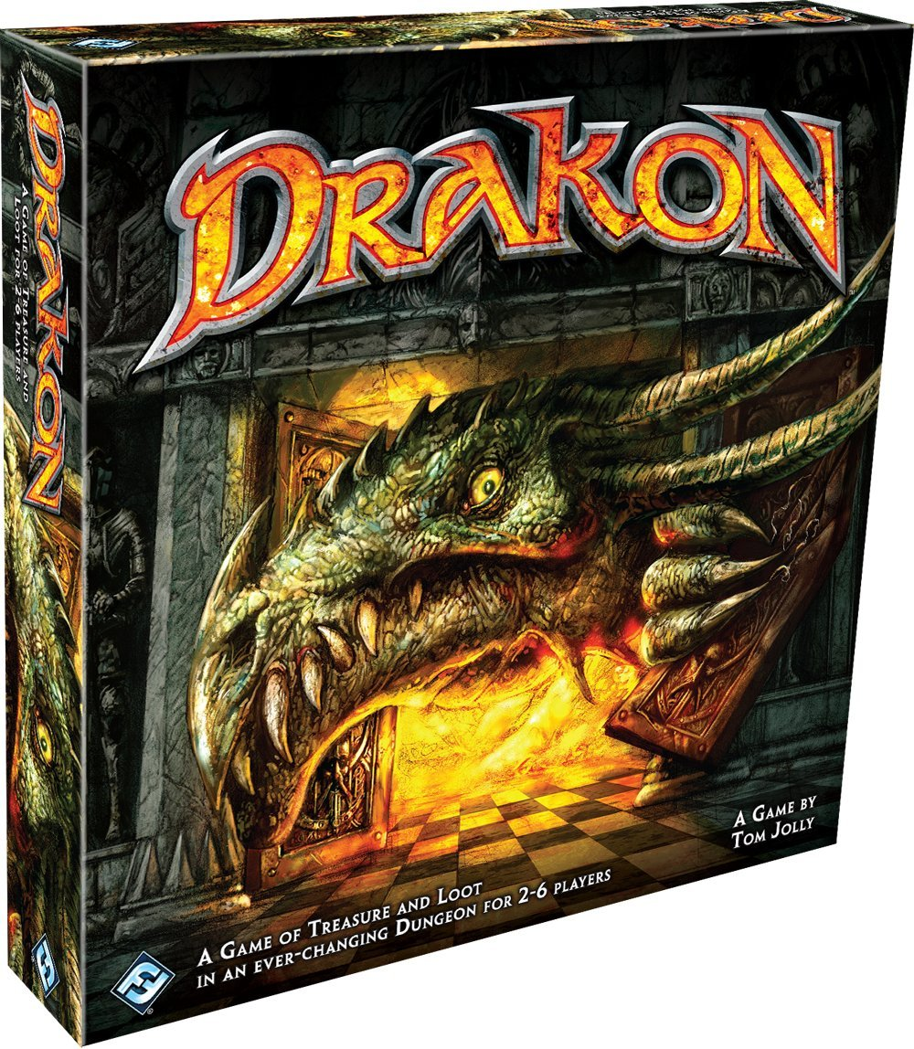 Amazon.com: Drakon - 4th Edition: Fantasy Flight Games: Toys & Games