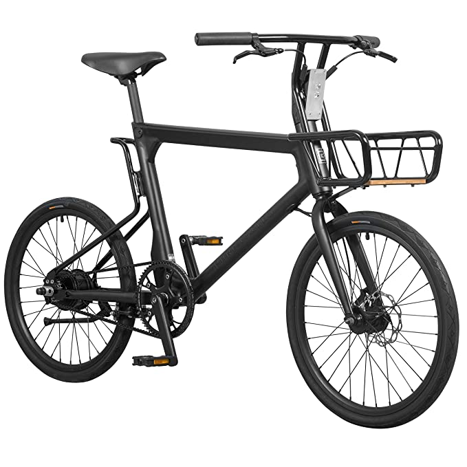 Amazon Com Pure Cycles Volta 1 Speed Belt Electric Bike 1 Size