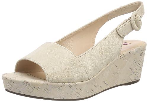 official photos d653f 78a95 HÖGL Women's 5-10 3212 Flatform Sandals