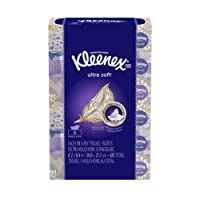 Kleenex Ultra Soft Facial Tissues, Flat Box, 70 Tissues per Flat Box, 6 Packs