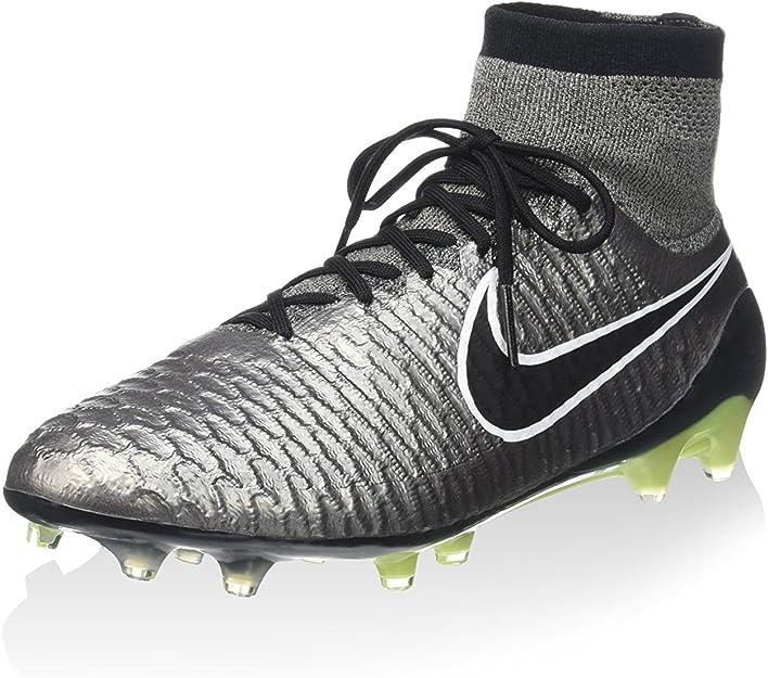 Nike Magista Obra Fg, Scarpe da Calcio Uomo, Argento