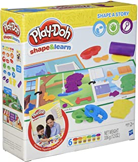 Play-Doh B3404 Shape and Learn Colours and Shapes Playset