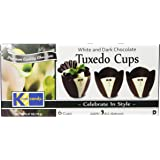 Kane Candy Chocolate, Tuxedo, 2.47-Ounce Cups