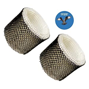HQRP 2-Pack Wick Filter for Hamilton Beach Humidifiers 05520 05521 True Air 05920 Replacement Coaster