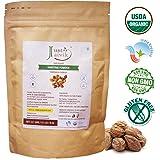 100% Organic Haritaki Powder - Terminalia Chebula -227g / 0.5 LB - USDA Certified Organic - An Ayurvedic Herb for Detoxification & rejuvenation for Vata