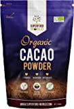 Superfood World Organic Cacao Premium Cocoa Powder 500G - Nature's Chocolate Powder Rich in Magnesium & Flavonoids - Ideal for Hot Chocolate, Smoothies & Baking