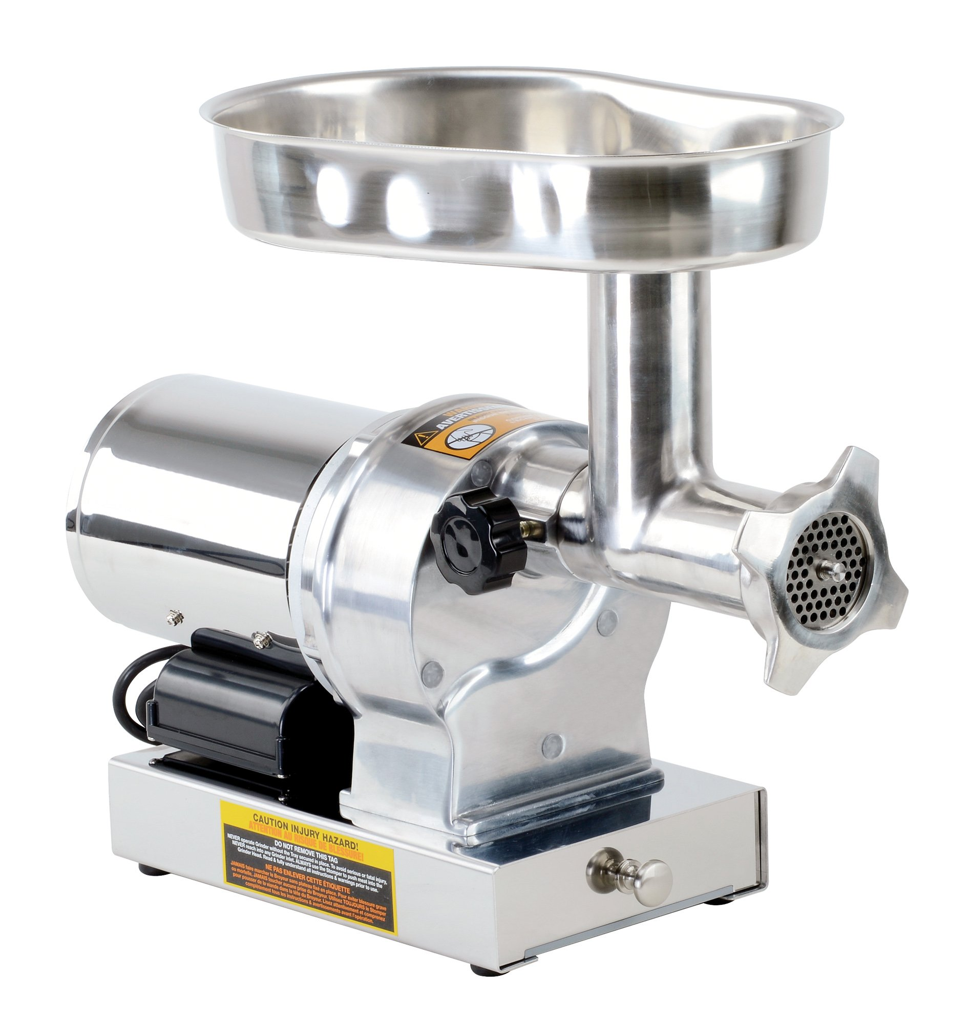 Kitchener #8 Commercial Grade Electric Stainless Steel Meat Grinder 1/2 HP (370W), (480-lbs Per Hour) by Kitchener (Image #3)