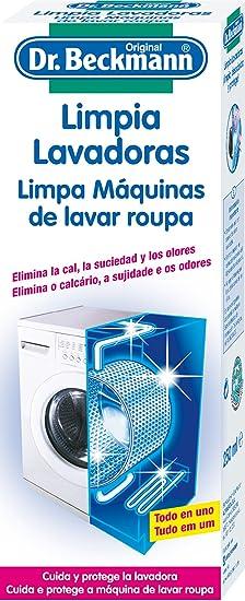 Dr. Beckmann - Limpia lavadoras - Elimina la cal, la suciedad y ...