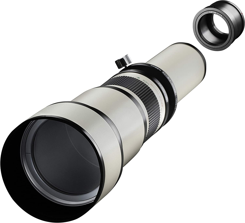 Samyang MF - Cámara réflex Digital (650-1300 mm, F8.0-16.0, Fuji X ...