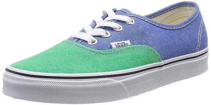 Vans Authentic Unisex-Erwachsene Blau Grün