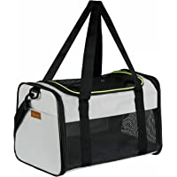 Akinerri Airline Approved Pet Carriers,Soft Sided Collapsible Pet Travel Carrier for Medium Puppy…
