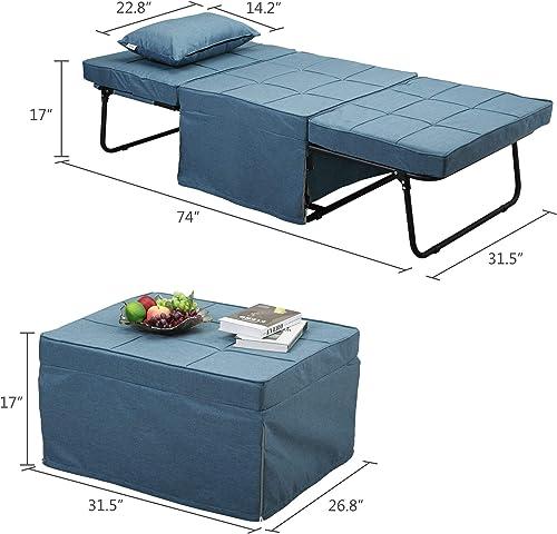 Futon Sofa Bed Convertible 4