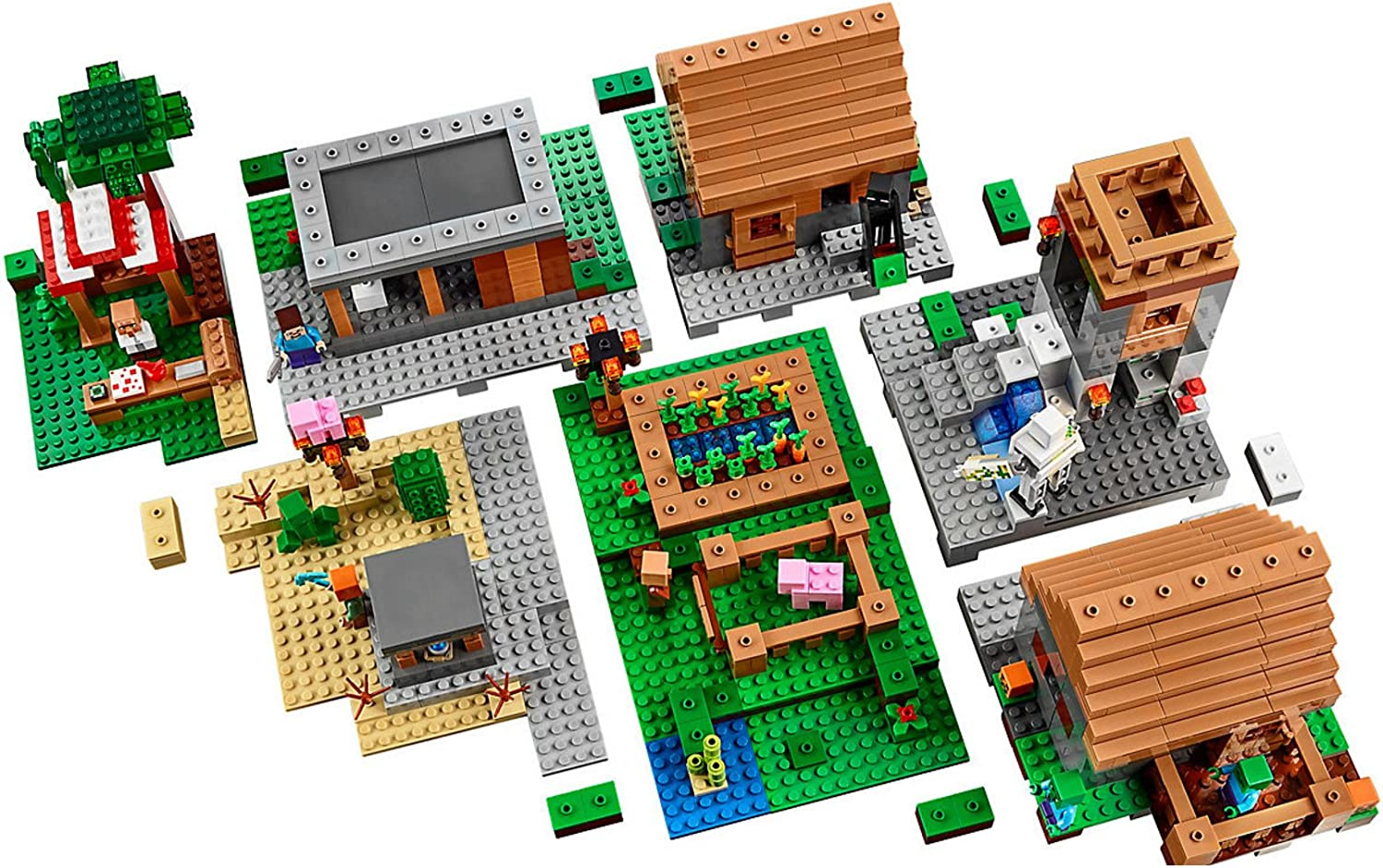 Sets de Lego Minecraft baratos