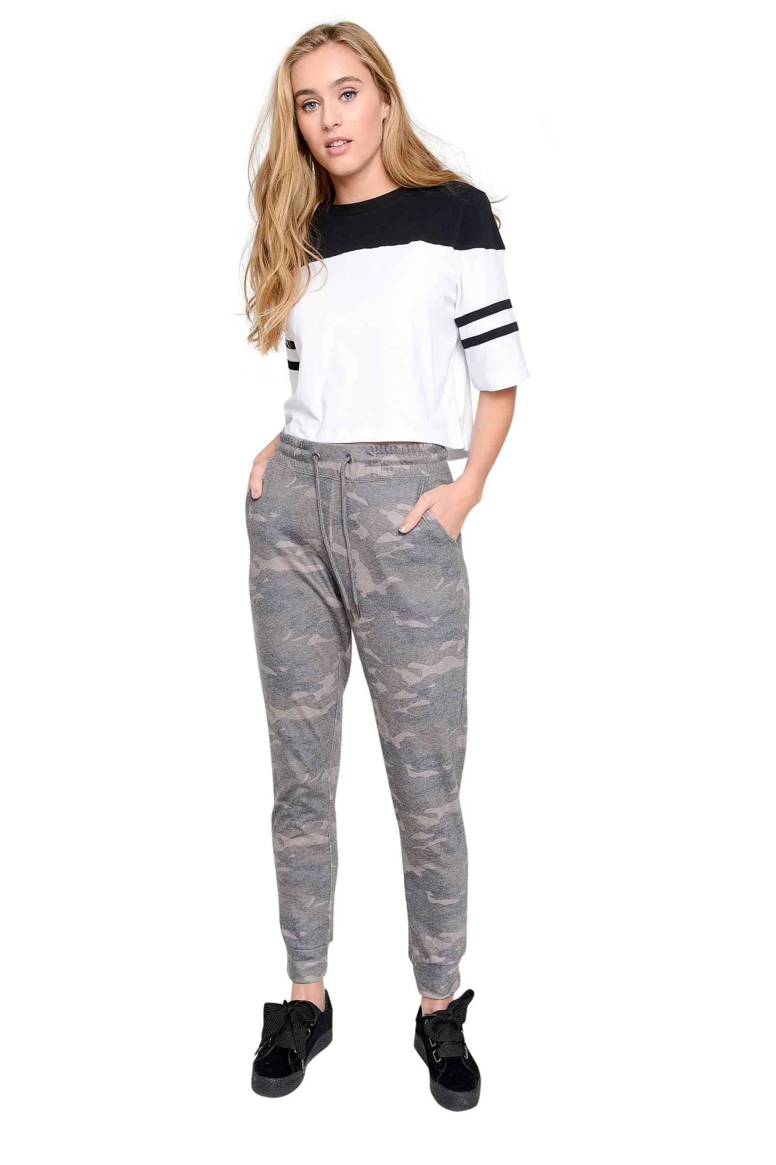 Ardene Women's - Sweatpants & Joggers - Knit Sweatpants Medium -(8A-AP01983)