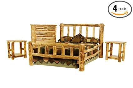 Amazon Com Mountain Woods Furniture Rustic Arts Collection Plateau