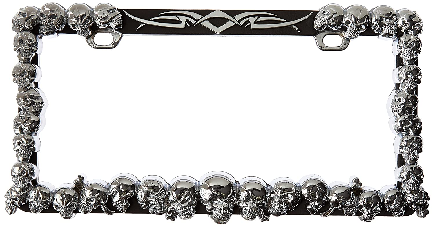 Contemporary Skull Picture Frame Crest - Picture Frame Ideas ...