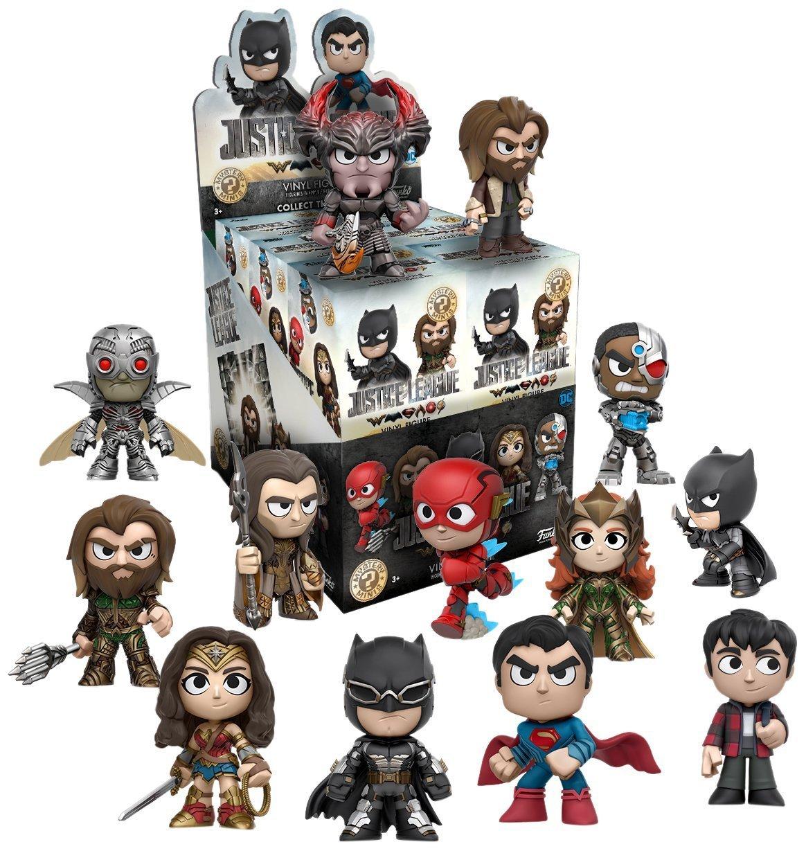 Funko POP Mystery Mini DC Comics Justice League Mini Toy Action Figure 2 Piece BUNDLE