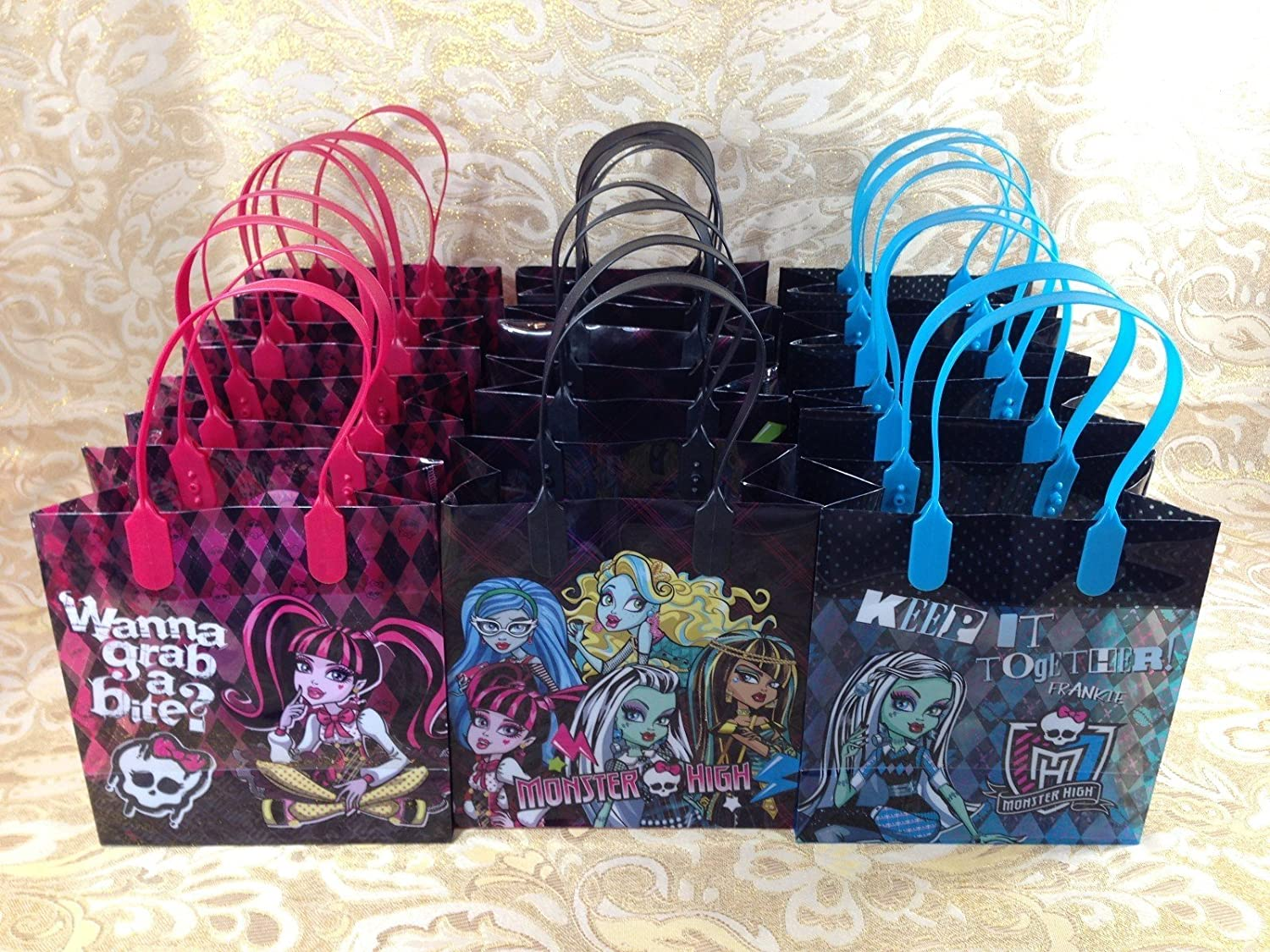 12PC MONSTER HIGH GOODIE BAGS PARTY FAVOR GIFT BAGS 81hrL604cjL