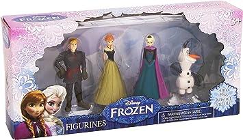 Disney Frozen - Pack 4 Figuras (Comansi CLR369): Juguetes y juegos - Amazon.es