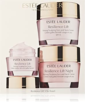 ESTEE LAUDER TOTAL RESILIENCE LIFT SET (DAY CREAM 50 ML + NIGHT CREAM 50 ML + EYE 15 ML) TRAVEL SET: Amazon.es: Belleza