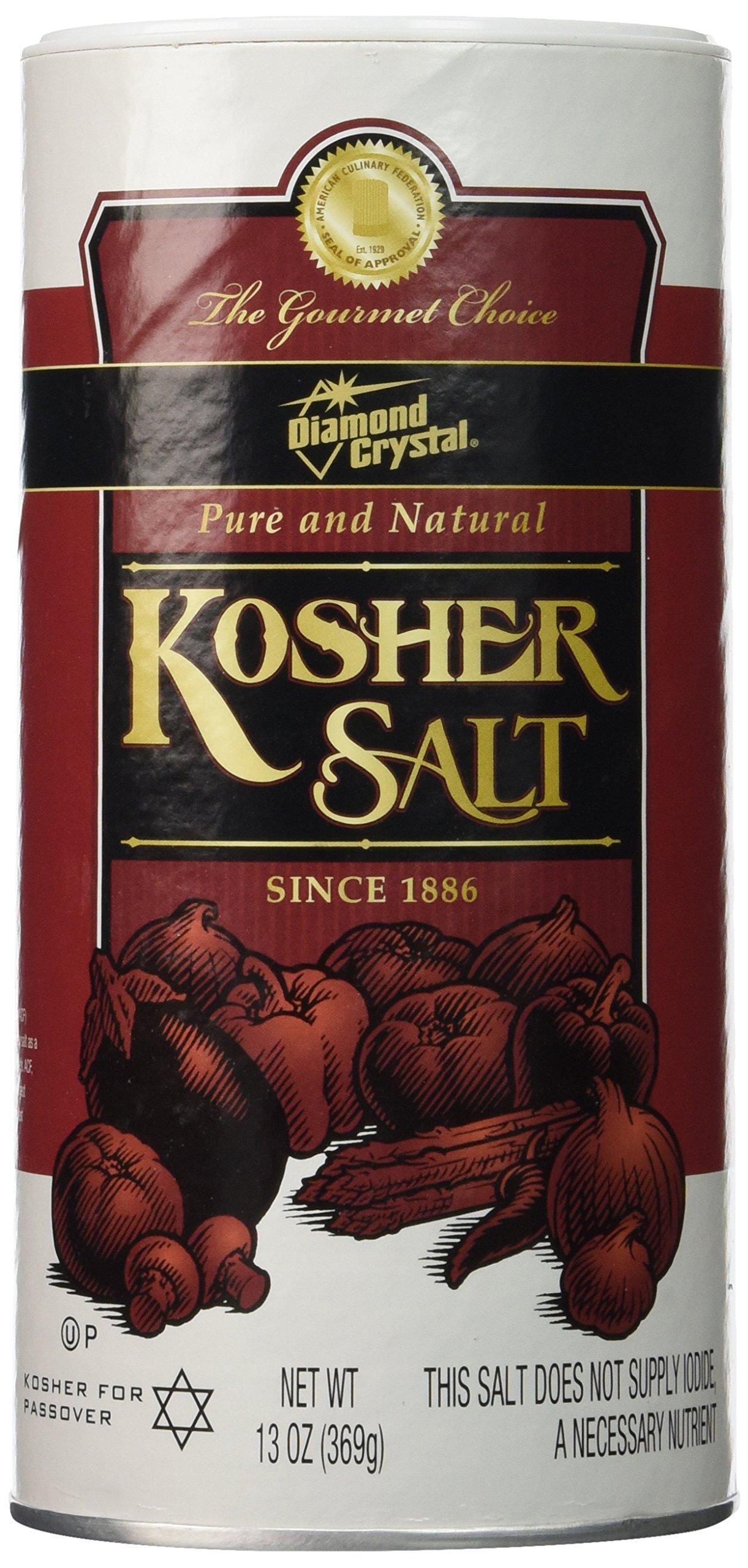 Diamond Crystal Kosher Salt-13 oz (Pack of 2)