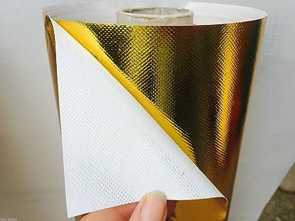 Plata o de oro metálico material: Lámina de brillante Tejido ...
